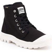 Shoes Men Hi top trainers Palladium Pampa HI Originale 75349-016-M black