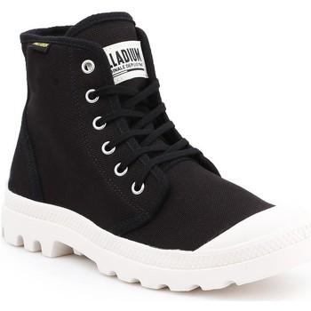 Shoes Men Hi top trainers Palladium Pampa HI Originale 75349-016-M black