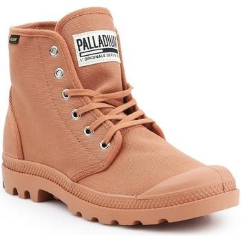 Shoes Men Hi top trainers Palladium Pampa HI Originale 75349-225-M brown