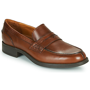 Shoes Men Loafers Carlington JALECK Brown
