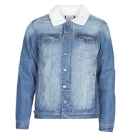 Clothing Men Denim jackets Casual Attitude  Blue / Medium