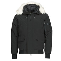 Clothing Men Duffel coats Casual Attitude NIFFO Black
