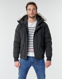 Clothing Men Duffel coats Casual Attitude NIFFO Black