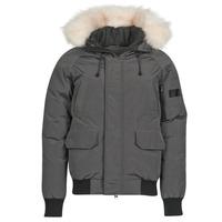 Clothing Men Duffel coats Casual Attitude NIFFO Grey