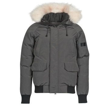 Clothing Men Duffel coats Casual Attitude NIFFO Grey