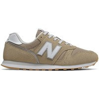 Shoes Men Low top trainers New Balance 373 White, Beige
