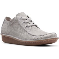 Shoes Women Derby Shoes Clarks Funny Dream Womens Casual Shoes grey
