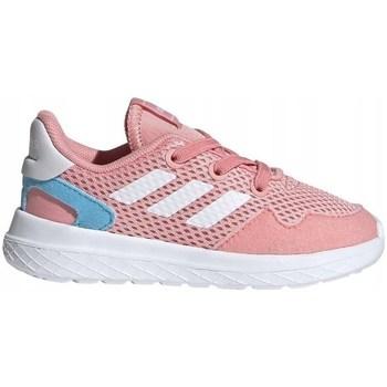 Shoes Children Low top trainers adidas Originals Archivo K Pink