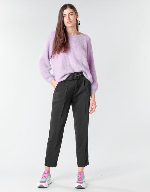 Clothing Women 5-pocket trousers Betty London NOXE Black