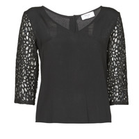 Clothing Women Tops / Blouses Betty London NIXE Black