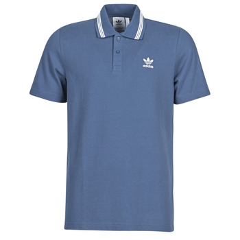 Clothing Men Short-sleeved polo shirts adidas Originals PIQUE POLO Blue