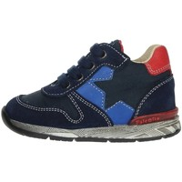 Shoes Children Low top trainers Falcotto 0012012881.01.1C23 Blue/Red