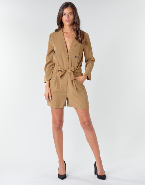Clothing Women Jumpsuits / Dungarees Only ONLBREEZE Kaki
