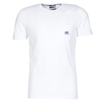 Clothing Men short-sleeved t-shirts Jack & Jones JJMASCARIN White