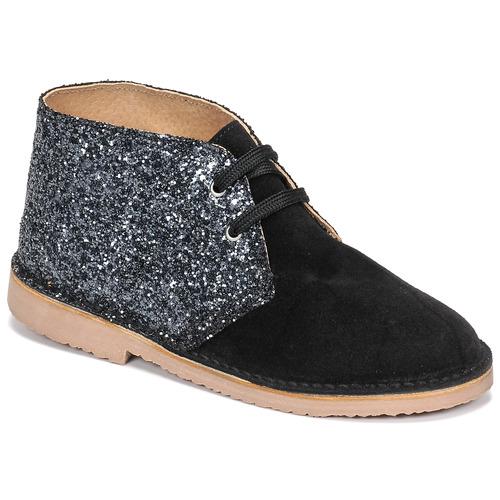 Shoes Girl Mid boots Citrouille et Compagnie NINUP Black