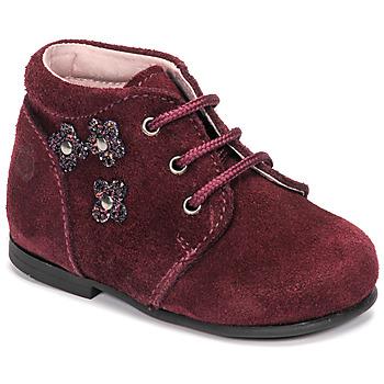 Shoes Girl Mid boots Citrouille et Compagnie NONUP Bordeaux