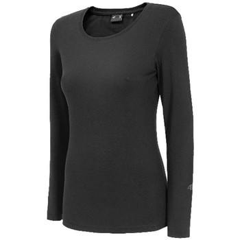 Clothing Women Long sleeved tee-shirts 4F TSDL001 Graphite