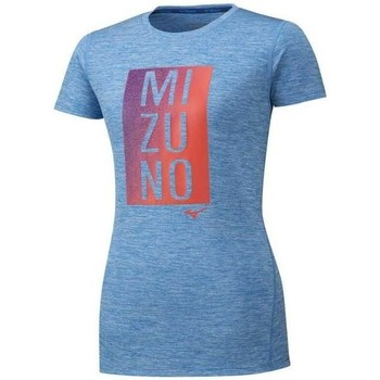 Clothing Women Short-sleeved t-shirts Mizuno Core Graphic Tee Blue