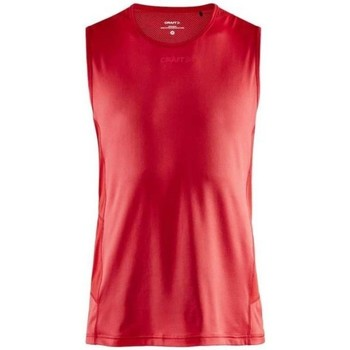 Clothing Men Tops / Sleeveless T-shirts Craft Adv Essence Tee Red