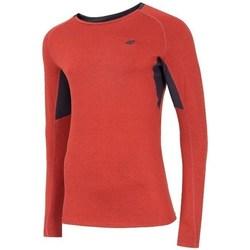 Clothing Men Long sleeved tee-shirts 4F TSMLF002 Orange