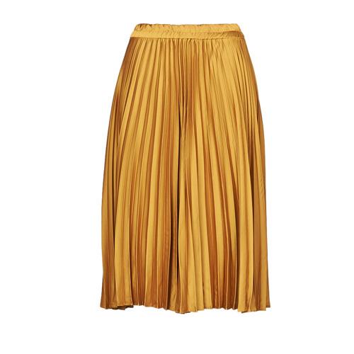 Clothing Women Skirts Betty London NAXE Mustard