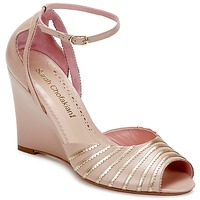 Shoes Women Sandals Sarah Chofakian LA PARADE Pink / Gold