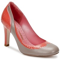 Shoes Women Heels Sarah Chofakian LAUTREC Clay / Salmon
