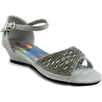 Shoes Girl Sandals Strictly Jaspreet Girl's Party Sandal Silver