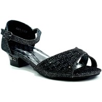 Shoes Girl Sandals Strictly Jaspreet Girl's Party Sandal Black