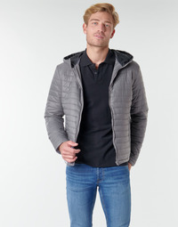 Clothing Men Duffel coats Casual Attitude NEFFLE Grey