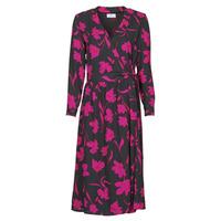 Clothing Women Long Dresses Betty London NOLIE Black / Pink