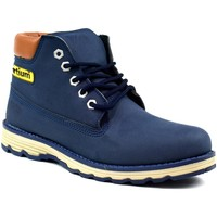 Shoes Men Mid boots Bartium Low Top Lace Up Boot Navy