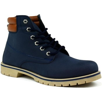 Shoes Men Mid boots Bartium High Top Lace Up Boot Navy