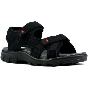 Shoes Men Outdoor sandals Airfoot Sport Men's Summer Sandals Black