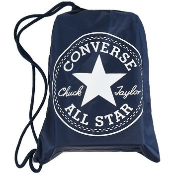 Bags Women Rucksacks Converse Cinch Bag White,Navy blue