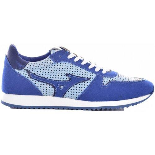 Shoes Men Low top trainers Mizuno D1GB196026 ETAMIN Blue