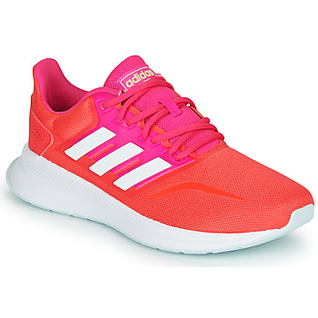 Shoes Women Low top trainers adidas Performance RUNFALCON Red / Pink