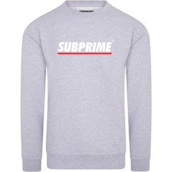 Clothing Men sweaters Subprime Sweater Stripe Grey Grey