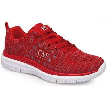 Shoes Women Low top trainers Calzamedi SPORT SHOES RED