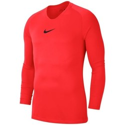 Clothing Men Long sleeved tee-shirts Nike Dry Park First Layer Red