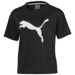 Clothing Women Short-sleeved t-shirts Puma Modern Sports Logo Tee Black