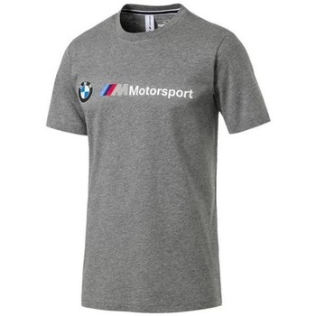 Clothing Men Short-sleeved t-shirts Puma Bmw Mms Logo Tee Grey