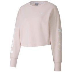 Clothing Women Sweaters Puma Rebel Crew Sweat TR Pink