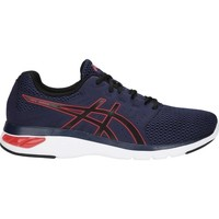 Shoes Men Running shoes Asics Gel Moya White,Navy blue