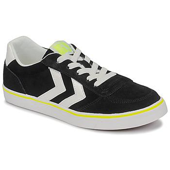 Shoes Children Low top trainers Hummel STADIL 3.0 JR Black / White