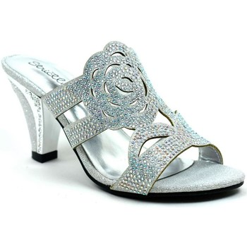 Shoes Women Heels Stictly Rose for Your Feet Elegant Evening Heel Silver