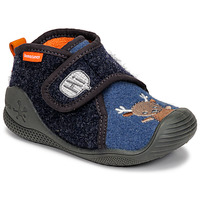Shoes Children Slippers Biomecanics ZAPATILLA TWIN Grey / Blue