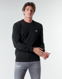 Clothing Men Jumpers Lacoste AH1985 Black