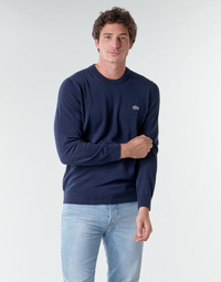 Clothing Men Jumpers Lacoste AH1985 Marine