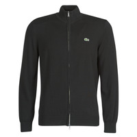 Clothing Men Jackets / Cardigans Lacoste AH1957 Black